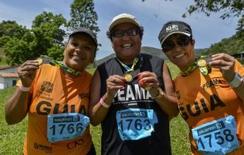 """Correndo no escuro: atletas cegos contam o que """"viram"""" no K21 Japi"""