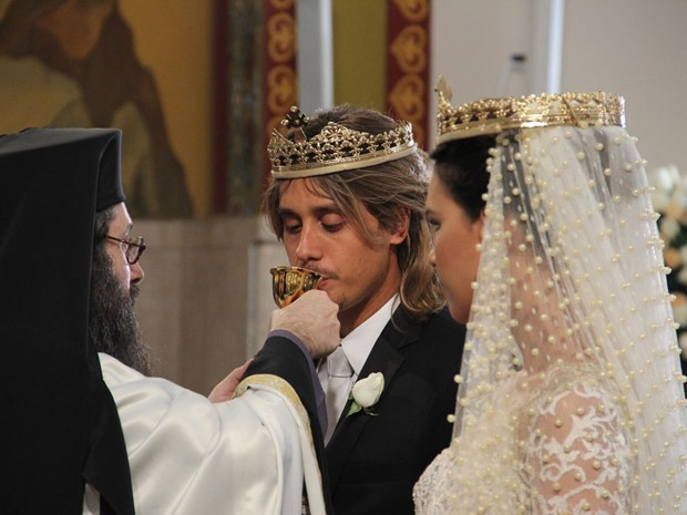 Drika e Pepeu se casam em igreja ortodoxa, na Turquia  (Foto: Salve Jorge/TV Globo)
