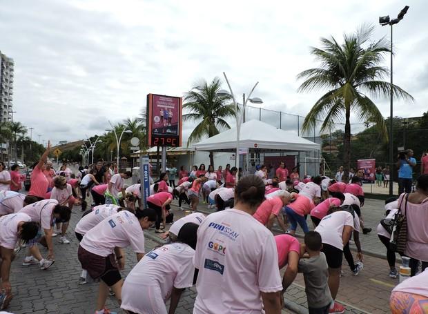 2ª Edição da Caminhada Outubro Rosa em Três Rios (Foto: Carmem Aguiar)