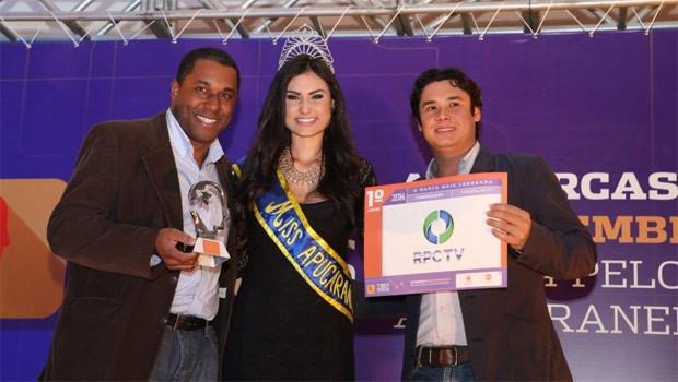 RPC TV Londrina vence o Top de Marcas Apucarana 2014 (Foto: Divulgação/RPC TV)