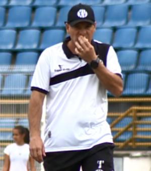 Cléber Gaúcho técnico XV de Piracicaba (Foto: José Braz / EPTV)