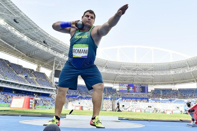Darlan Romani na Olimpíada (Foto: Wagner Carmo/CBAt)