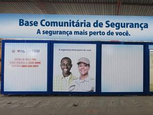 base comunitária do bairro da paz (Foto: Carol Garcia/Secom)