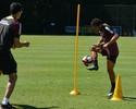 Wellington Nem se recupera de lesão e volta a treinar com bola no São Paulo