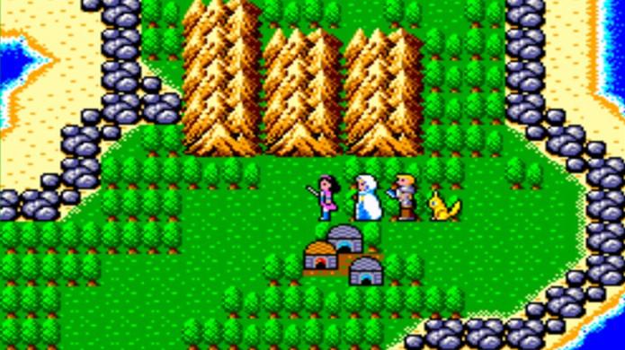 Phantasy Star surpreendeu em sua época ao vir traduzido em português (Foto: My All Time Favourite Video Games)