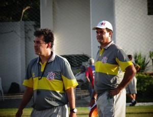 Técnico Moacir Júnior (Foto: Paulo Victor Malta / Globoesporte.com)