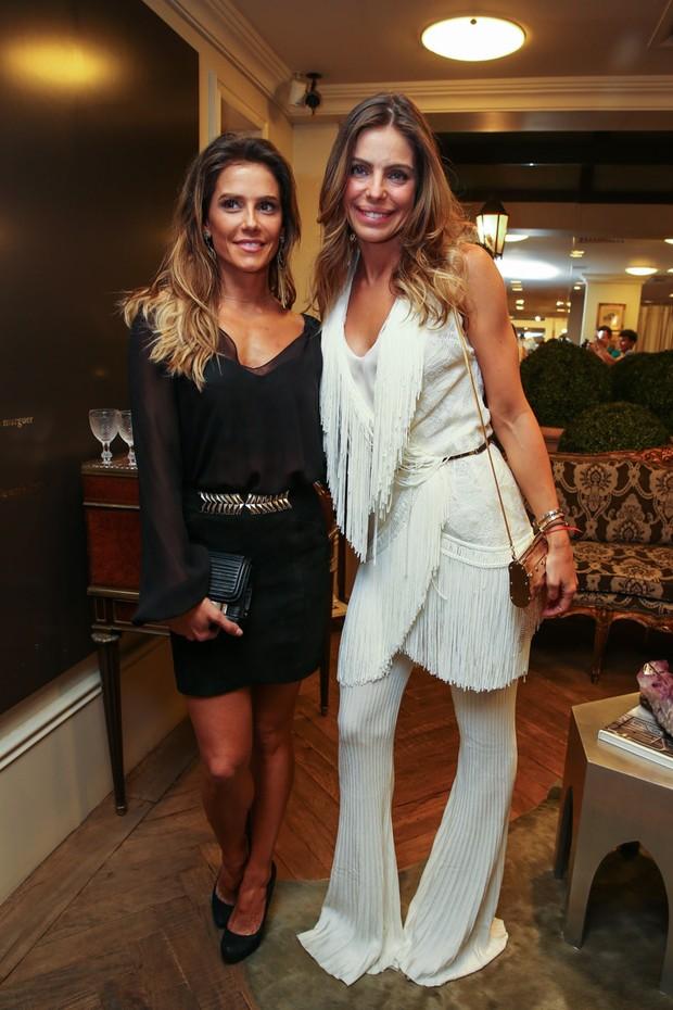 Deborah Secco e Daniela Cicarelli (Foto: Manuela Scarpa/Photo Rio News)