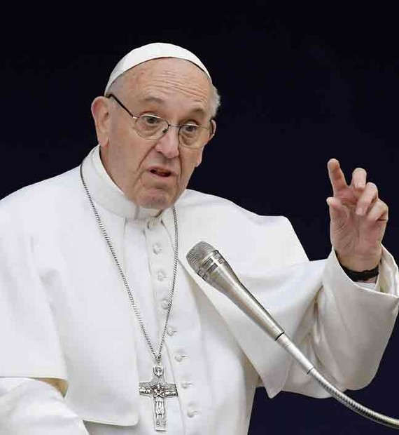 Resultado de imagem para imagem do papa francisco