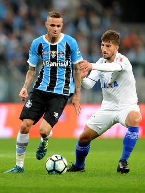 Luan Grêmio x Cruzeiro (Foto: Wesley Santos/Agência PressDigital)
