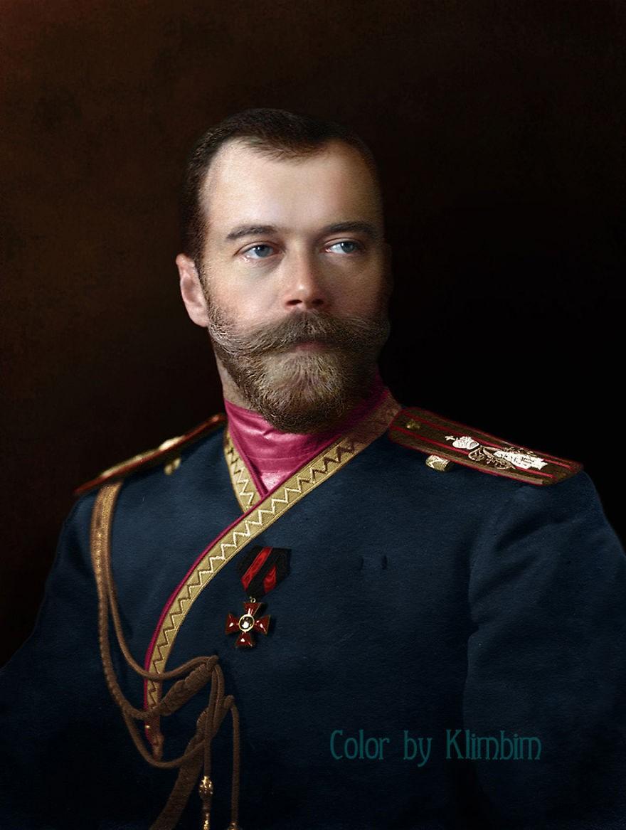 Nicolau II da Rússia, em 1912 (Foto: Reprodução)