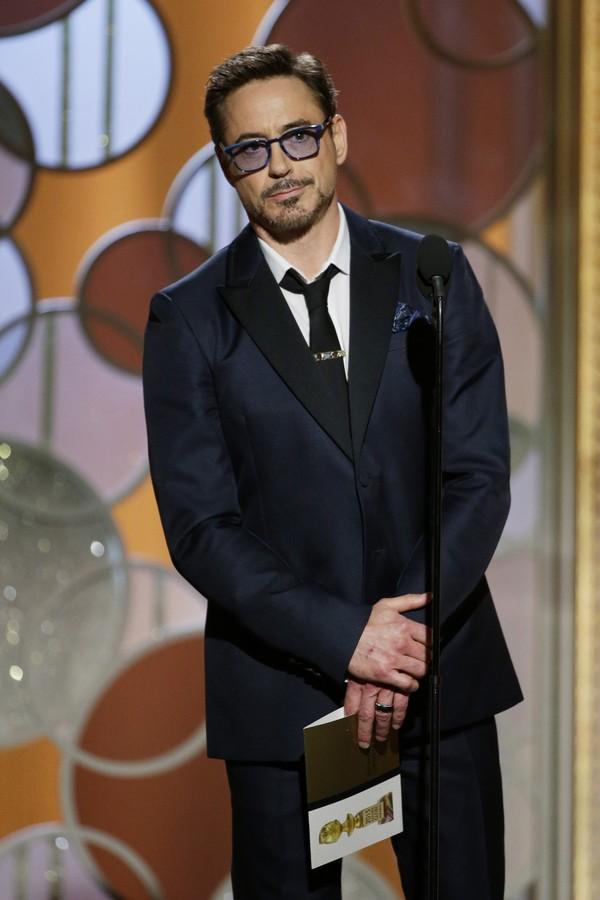 Robert Downey Jr. tabém deixou um jornalista falando sozinho (Foto: Getty Images)