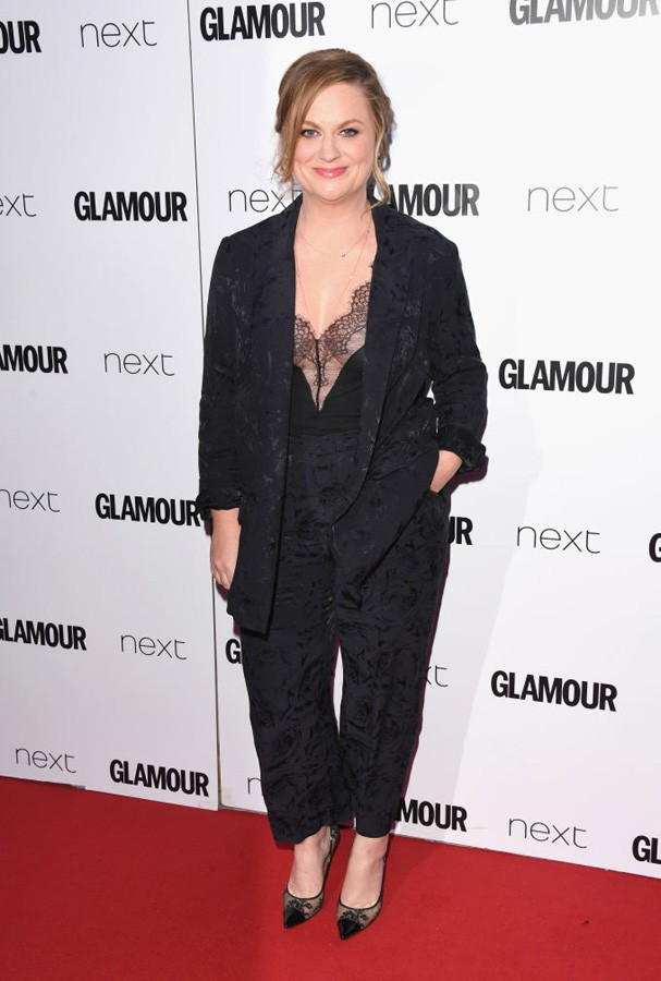 Amy Poehler no Glamour Awards 2017 (Foto: Stuart C. Wilson/Getty Images)