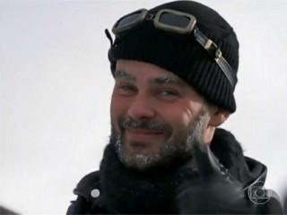 Carmo Dalla Vecchia na reportagem exibida pelo Vídeo Show sobre as gravações de Joia Rara (Foto: Globo)