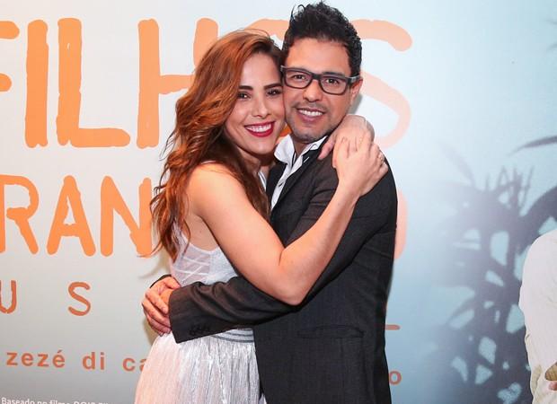 Wanessa e Zezé Di Camargo (Foto: Marcos Ribas/BrazilNews)