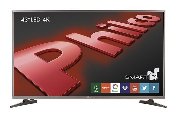 Smart Tvs da Philco vêm equipadas com o sistema operacional Android (Foto: Divulgação/Philco)
