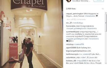 BLOG: Foto no Instagram sugere que lutadoras do UFC se casaram em Las Vegas