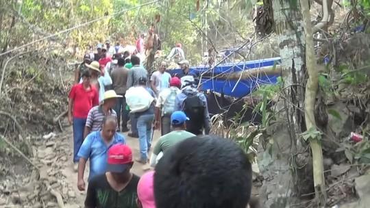 Polícia chega à 'nova Serra Pelada' e comunica retirada de garimpeiros