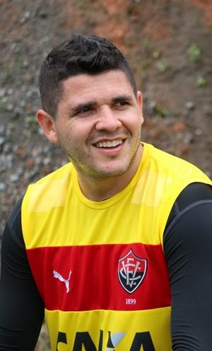 Vitória; treino; Toca do Leão; Barradão; Diego Renan; Marinho (Foto: Francisco Galvão/EC Vitória/Divulgação)