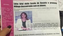 Jornalistas da TV Paraíba fazem sucesso nas escolas de Campina (Reprodução/Internet)