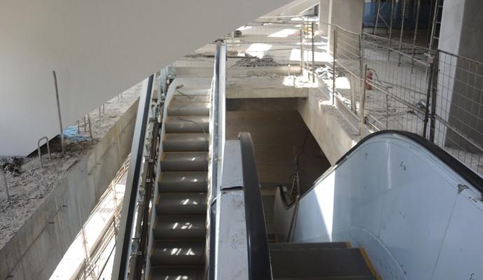 Obras Arena Palmeiras (Foto: Felipe Zito)