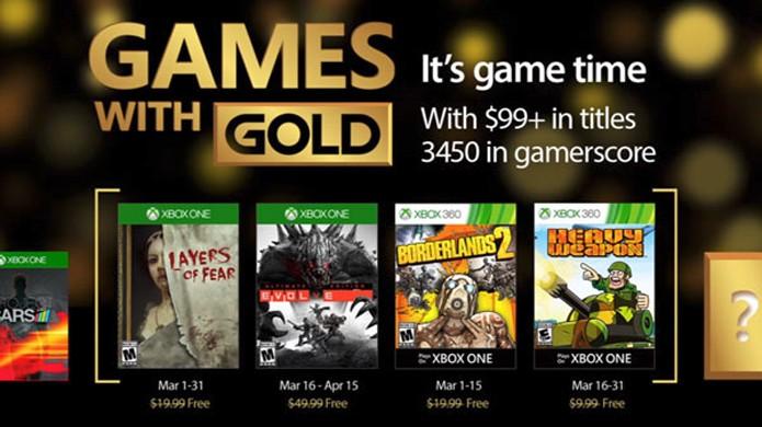 Layers of Fear para Xbox One e Borderlands 2 para o Xbox 360 são os destaques gratuitos da Xbox Live Gold em março (Foto: Reprodução/Gematsu)