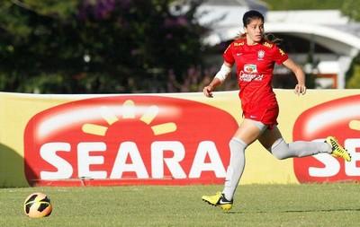 Atacante Patrícia Sochor, da seleção brasileira sub-20 feminina (Foto: Divulgação/CBF)