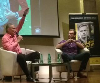 Corinthians Tite lançamento livro (Foto: Tossiro Neto)