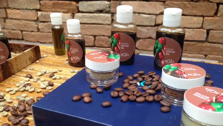 café-cosmeticos-oleo-de-cafe-verde-biomassa-cooxupe-aqia  (Foto: Teresa Raquel Bastos/Ed. Globo)