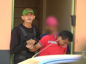 Assalto a casa de candidato a prefeito de Mojuí dos Campos (Foto: Reprodução/TV Tapajós)
