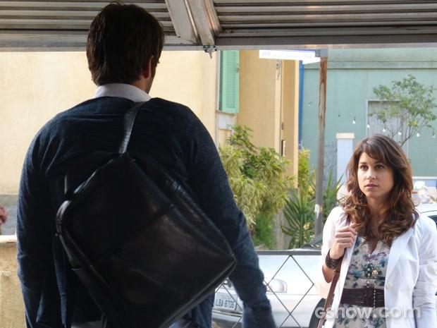 Gata aparece de surpresa no quarto de Davi (Foto: Geração Brasil/TV Globo)