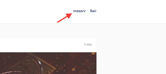 Acessando a página de perfil de usuário do Instagram na versão web (Foto: Reprodução/Marvin Costa)