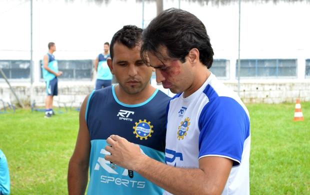 O meia Diego Palhinha, do São José Esporte Clube (Foto: Danilo Sardinha/Globoesporte.com)