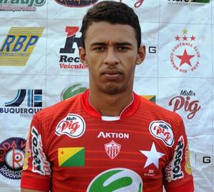 Lucas Araújo, 19 anos, goleiro Rio Branco-AC (Foto: Duaine Rodrigues)