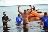 Histórico: Mascarenhas é o 1º nadador do AM a completar prova de 30km