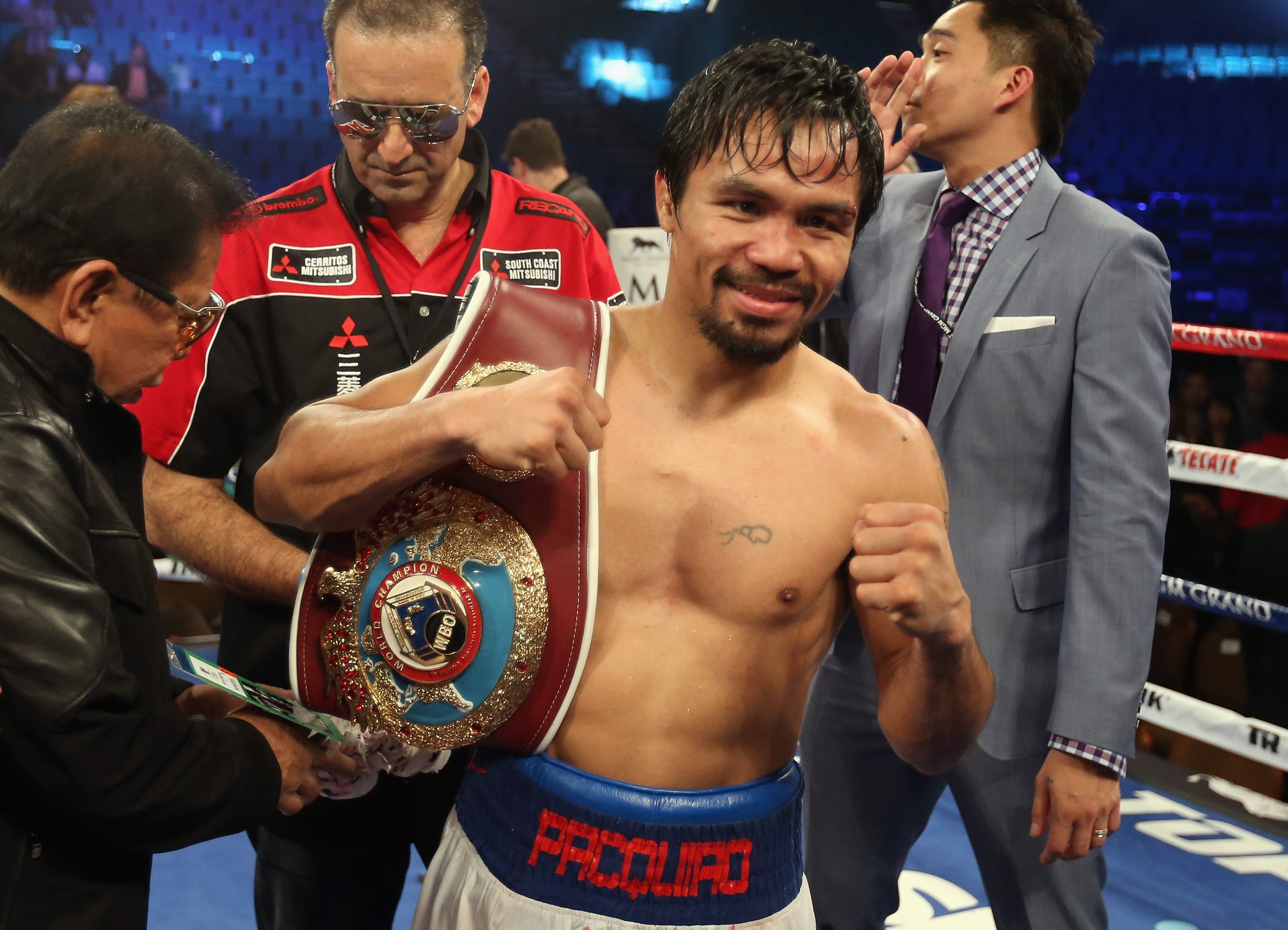 Manny Pacquiao (Foto: Getty Images)