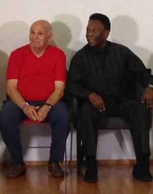 Pelé (Foto: João Paulo de Castro)
