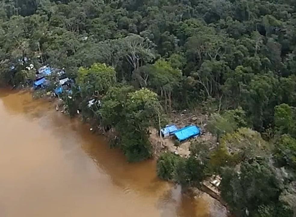 'Cidade' em meio a selva amazônica foi descoberta durante operação do Exército Brasileiro (Foto: Exército/Divulgação)