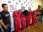 Quatro suspeitos de assalto em Três Corações são apresentados em BH