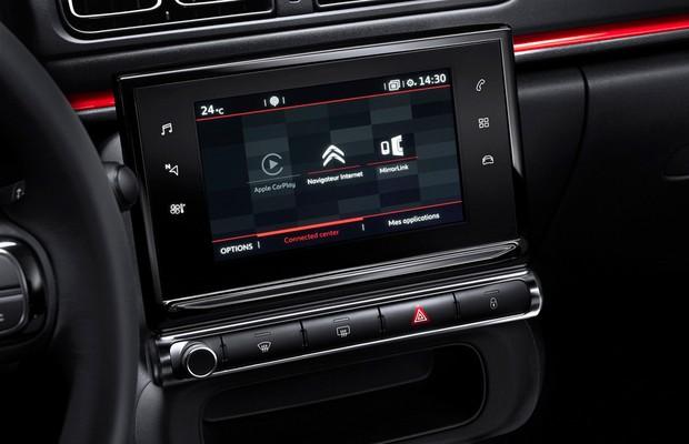 Interior do novo Citroën C3 (Foto: Divulgação)