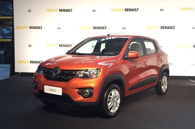 Renault Kwid (Foto: Gabriel Aguiar/Autoesporte)