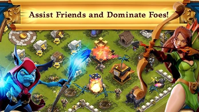 Arcane Battleground é um jogo de estratégia baseado no MMORPG da mesma empresa (Foto: Divulgação)