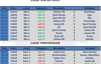 Finais e semifinais marcam o PE de Base de Futebol 7 neste domingo