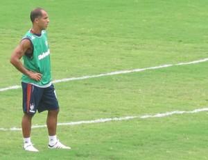 Felipe no treino do Fluminense  (Foto: Rafael Cavalieri )
