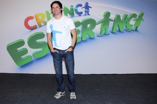 Ricardo Tozzi no Criança Esperança 2013 (Foto: Alex Palarea / AgNews)