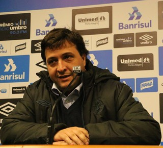 Alberto Guerra, vice de futebol, Grêmio (Foto: Beto Azambuja / GloboEsporte.com)