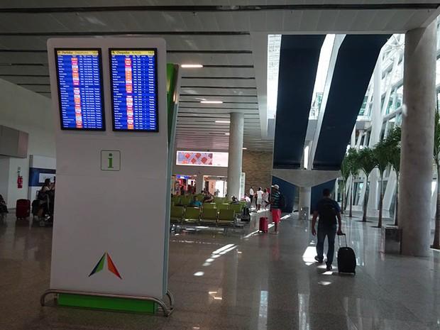 Aeroporto de Natal pode se tornar um hub (Foto: Fernanda Zauli/G1)
