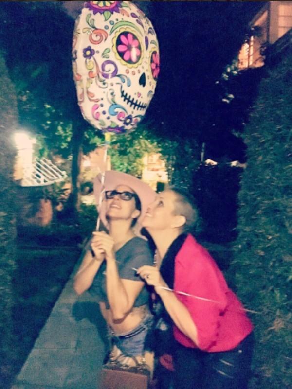 Lady Gaga com a amiga Sonja Durham, que faleceu neste final de semana (Foto: Reprodução/ Instagram)