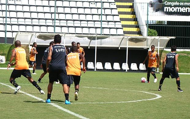 jogadores no treino do ABC (Foto: Divulgação)