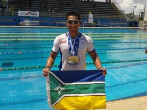 Nadador Master amapaense intensifica treinos para competições nacionais e internacionais (Foto: Eliel Oliveira/Arquivo Pessoal)