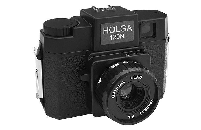 Câmera Holga 120N: lentes de plástico distorcem imagens (Foto: Divulgação/HolgaCamera)
